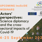 Actors' perspectives: Science diplomacy and the cross-sectoral impacts of Covid-19